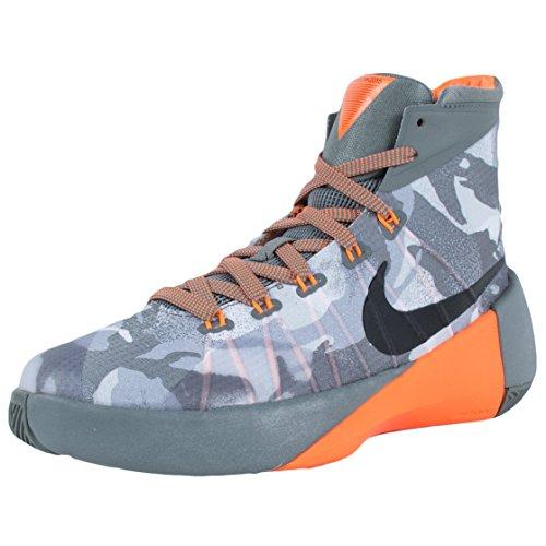 Nike Hyperdunk 2015 (Gs), Zapatillas de Baloncesto para Niños Tumbled Grey/Silver/Grey/Black