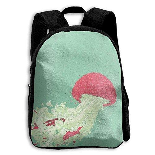 Mochila para niños, diseño de jirafa al aire última intervensión, escuela, bolsa de refrigeración, campus, regalo,...