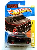 2011 Hot Wheels A Team Van Black #39/244