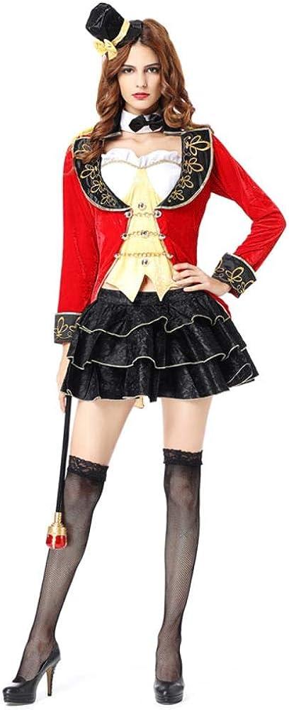 LASISZ Disfraz de Circo Disfraz de Mago Sexy para Mujer Disfraces ...