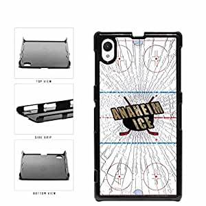 Anaheim Ice Plastic Phone Case Back Cover Xperia Z1