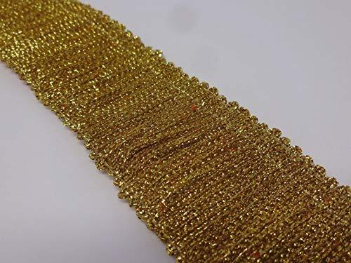 5041 Flangia artigianale artigianale dorata larghezza 3, 5 cm x lunghezza 2 m Dipartimento