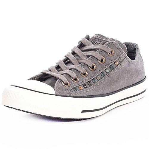 Converse All Star Eyebrow Cut Ox Damen Sneaker Grau
