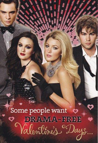 - One Card Gossip Girl Valentine's Day Card