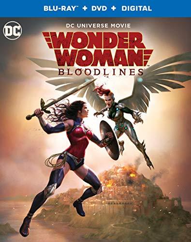 Wonder Woman: Bloodlines (Blu-ray/DVD/Digital) from Warner Manufacturing