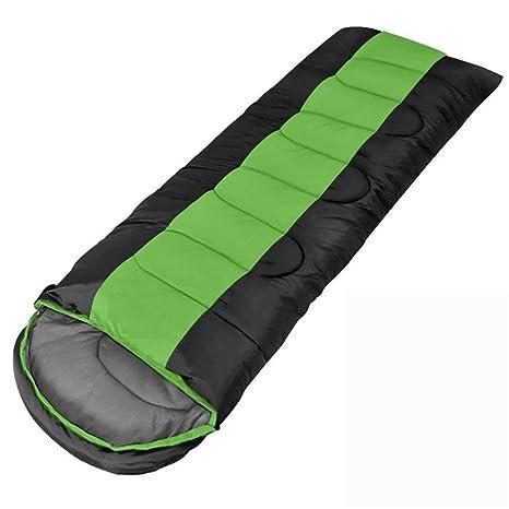 KANGLE Bolsa De Dormir-Envolvente Tipo Portátil Impermeable Costura Engrosamiento Saco De Dormir para Acampar