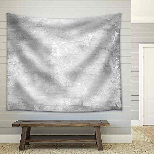 White Background Painted Wall Texture Fabric Wall Tapestry