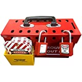 Group Lockout Box with Tagholder
