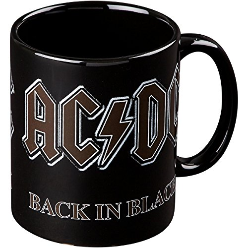 Price comparison product image ROCK OFF AC / DC Back In Black Mug