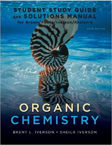 organic chemistry 6th edition brown solutions manual