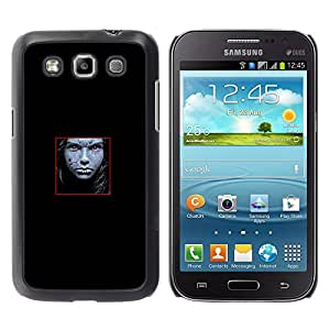 Paccase / SLIM PC / Aliminium Casa Carcasa Funda Case Cover - Face Abstract - Samsung Galaxy Win I8550 I8552 Grand Quattro