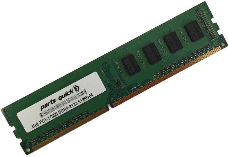 parts-quick 4Gb Memory For Msi Motherboard Z170A Gaming M7 Ddr4 Pc4-17000 2133 Mhz Non-Ecc Dimm (Parts-Quick Brand)