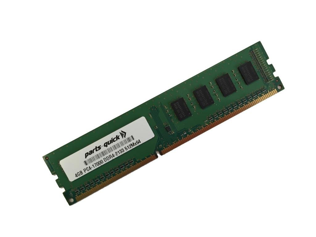 4GB Memory for ASUS/ASmobile X99 Motherboard X99-E WS/USB 3.1 DDR4 PC4-17000 2133 MHz NON-ECC DIMM (PARTS-QUICK BRAND)