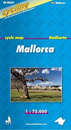 Cycline Radkarte Mallorca. 1 : 75.000