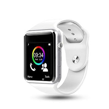 Teepao Smartwatch, Reloj Deportivo con Ranura para Tarjeta SIM, Pulsera Actividad, Reloj Iinteligente
