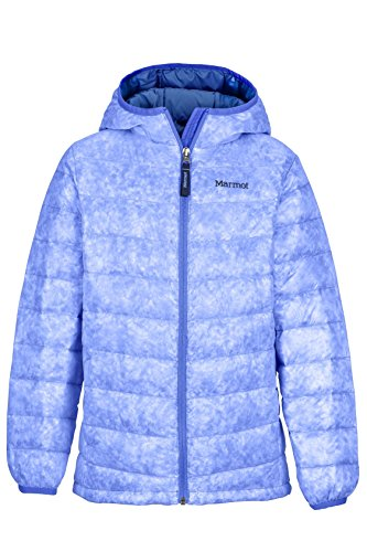 Marmot Nika Girls' Down Puffer Jacket, Fill Power 550, Lilac, Medium by Marmot
