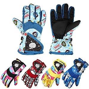 Amazon.com: (Size L) Children Winter Warm Thermal Gloves
