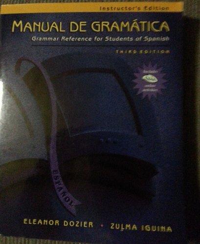 MAN DE GRAM 3E-IE INST QUIA CD