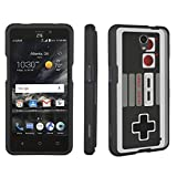 ZTE Sonata 3 Case / ZTE Chapel Case, DuroCase ® Hard Case Black for ZTE Sonata 3 Z832 /ZTE Chapel Z831 (Cricket, Released in 2016) – (Game Controller)