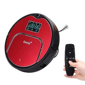 RLUJIUSR Robot Aspirador Robot con Panel Táctil De Pantalla Led ...