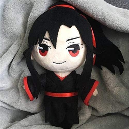 Knuffels 2pcs / lot 23cm Grootmeester demonische Teelt Wei Wuxian Lan Wangji Bl Pluche Doll Gevulde Toy Collection cadeaus for vrienden Fulinmen