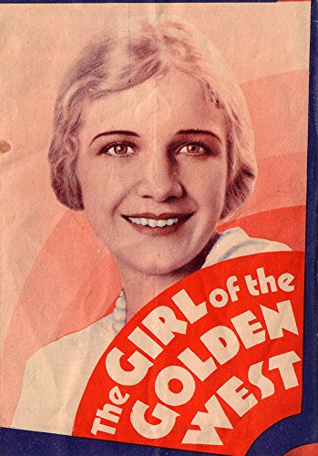Girl of the Golden West Original Movie Herald 1930 Ann Harding