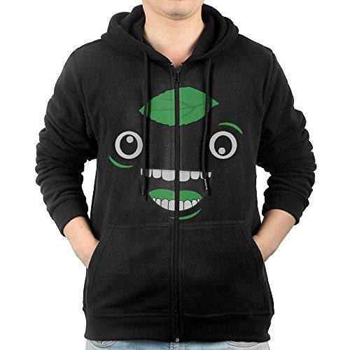 ADKKSI Casual Mens Guava Juice Logo Full-Zip Sweatshirt Hoodie Jacket - Liam Phillip