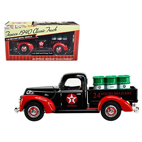 Beyond The Infinity 1940 Ford Pickup Truck \Texaco\ with Oil Barrels 1/32 Diecast Model Car by - 1940 Ford Truck