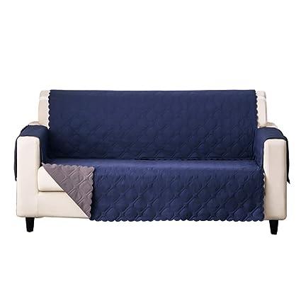 Awesome Hotniu Reversible Sofa Slipcover Anti Slip Couch Cover Short Links Chair Design For Home Short Linksinfo