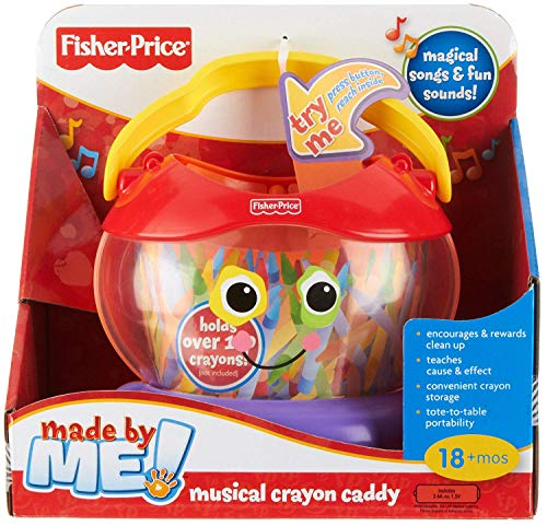 Fisher-Price Made by Me! Musical Crayon Caddy -
