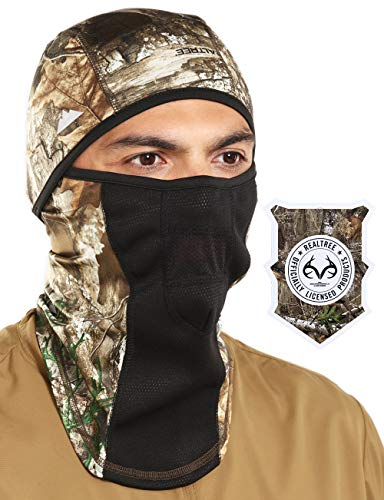 Tough Headwear Balaclava with Realtree Edge - Windproof Ski Mask - Cold Weather Face Mask for Hunting, Fishing, Camping, Skiing, Motorcycling & Winter Sports. Ultimate Protection from The Elements