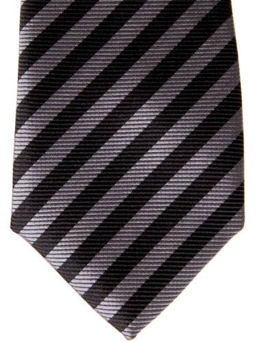 Retreez tied Tie Stripe Black Woven and Various Striped Boy's Pre Grey Colors rt64WrqB
