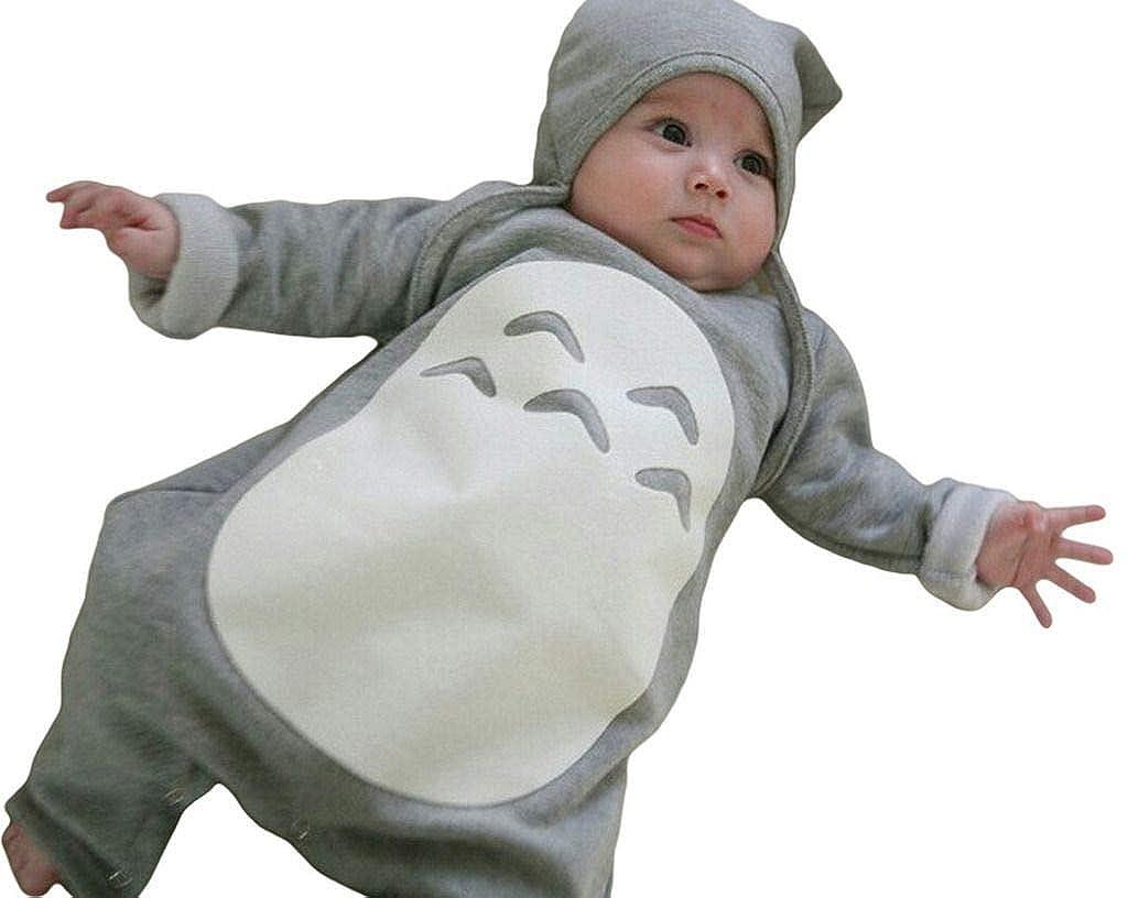 Jixin4you Newborn Baby Clothing Set Boy Girl Cat Romper Jumpsuit Outfits RA03