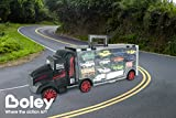 Boley Truck Carrier Toy - Big Rig Hauler Truck with 14 die cast cars and 28 slots for car toys, great toy for a boys!