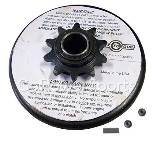 - MAX-TORQUE clutch 3/4 shaft,#40,41,420 chain,10 teeth