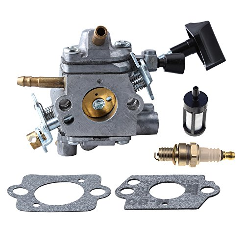 HIPA C1Q-S183 Carburetor with Gasket Fuel Filter Spark Plug for STIHL BR500 BR550 BR600 Blower by HIPA