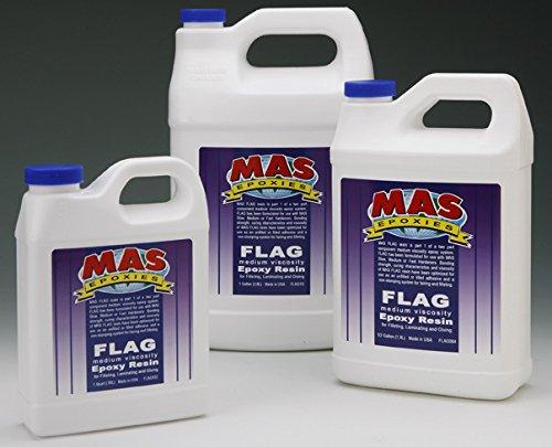 MAS Medium Viscosity Flag Resin (Quart)