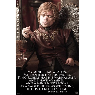 Game of Thrones Tyrion Lannister TV Poster Print