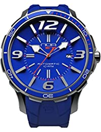 NOA Unisex Swiss Automatic Watch - Premium Analog Display With Blue Dial and Watch Band -
