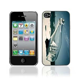 YOYOSHOP [Ship In A Bottle] Custodia Case Cover per Apple iPhone 4 / 4s