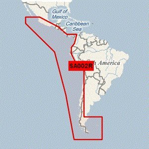 Garmin BlueChart g2 Vision - VSA002R - South America West Coast - microSDTM/SDTM (41214)