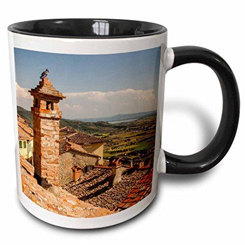 3dRose 257740_4 Cortona. Tuscany, Italy. Ceramic Mug 11 oz - 4 Light Cortona