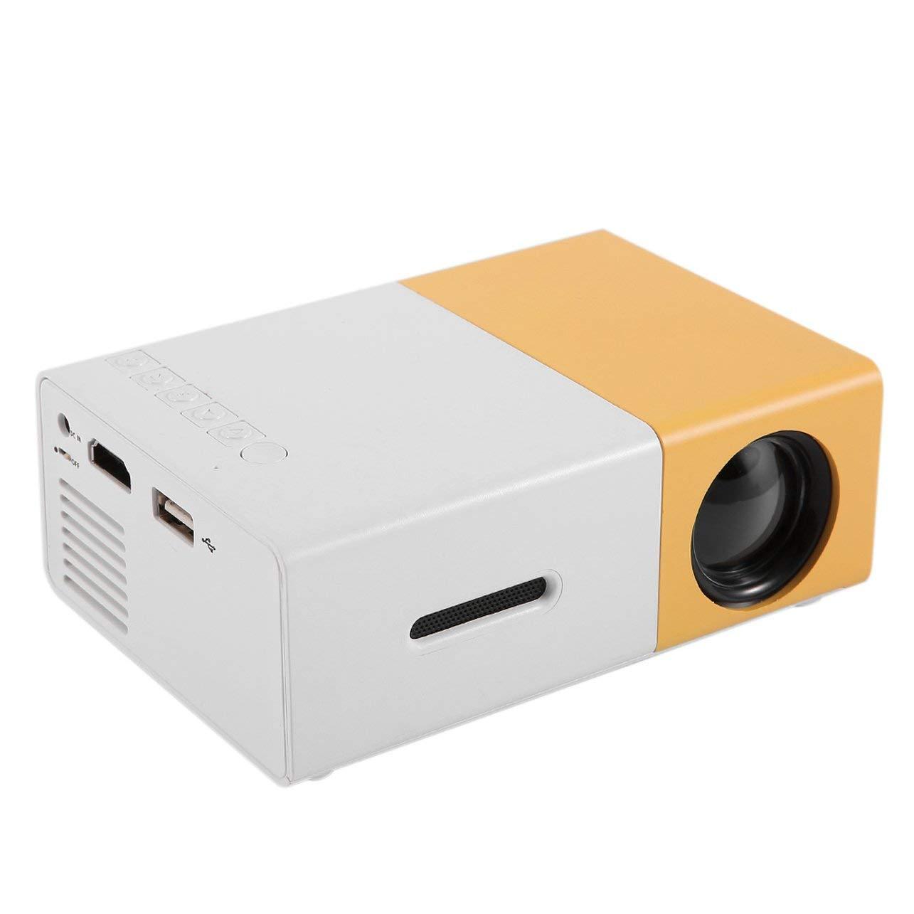 WOSOSYEYO YG300 Profesional Mini proyector de Cine en casa HD1080P ...