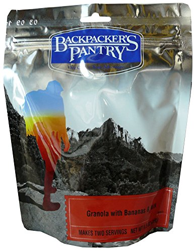 Backpacker's Pantry Granola with Bananas & Milk -- 9.5 -