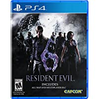 Capcom Resident Evil 6 for PS4