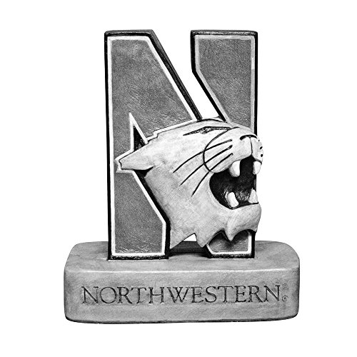 Northwestern Wildcats NCAA ''N-Cat'' Wildcat College Mascot 18in Vintage Statue by Stone Mascots
