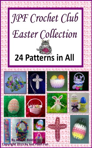 JPF Crochet Club Easter Collection (Crochet Bookmarks)