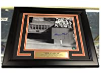 Willie Mays The Catch Autographed 8x10 Photo Framed Say Hey Holo 1954 Giants World Series