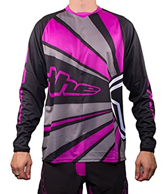 THE Industries Youth Lightweight BMX and Mountain Bike Long Sleeve Jersey