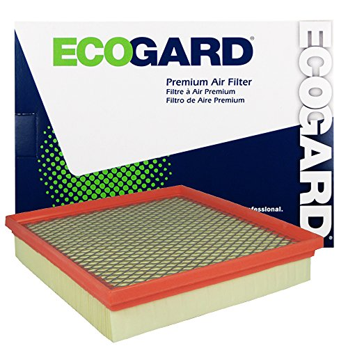 ECOGARD XA6151 Premium Engine Air Filter Fits Dodge Journey / Chrysler 200 / Dodge Avenger (Chrysler Engine)